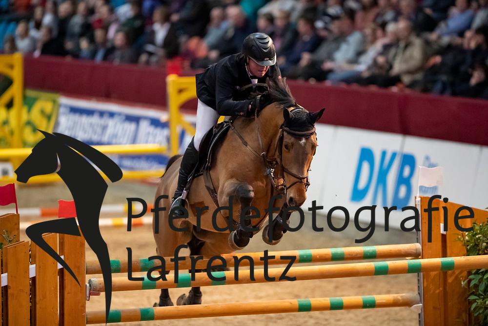 DRAIN Conor (IRL), Condavel<br /> Neustadt-Dosse - CSI 2019<br /> 2. Qualifikation Youngster Tour für 7 und 8 jährige Pferde<br /> 11. Januar 2019<br /> © www.sportfotos-lafrentz.de/Stefan Lafrentz