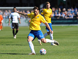 Bristol Rovers' Tom Parkes - Photo mandatory by-line: Neil Brookman/JMP - Mobile: 07966 386802 - 18/04/2015 - SPORT - Football - Dover - Crabble Athletic Ground - Dover Athletic v Bristol Rovers - Vanarama Football Conference