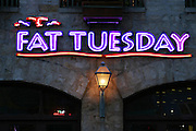 Fat Tuesday Restaurant in San Antonio, Texas. (Supporting image from the project Hungry Planet: What the World Eats.)
