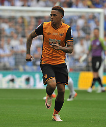 ABEL HERNANDEZ HULL CITY, Hull City v Sheffield Wednesday Sky Bet Championship Play-Off Final, Wembley Stadium Saturday  28th May 2016.Photo:Mike Capps