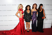 04.JUNE.2013. LONDON<br /> <br /> MOLLIE KING, VANESSA WHITE, UNA HEALEY AND FRANKIE SANDFORD OF THE SATURDAYS ATTEND THE 2013 GLAMOUR AWARDS IN BERKLEY SQUARE.<br /> <br /> BYLINE: EDBIMAGEARCHIVE.CO.UK<br /> <br /> *THIS IMAGE IS STRICTLY FOR UK NEWSPAPERS AND MAGAZINES ONLY*<br /> *FOR WORLD WIDE SALES AND WEB USE PLEASE CONTACT EDBIMAGEARCHIVE - 0208 954 5968*