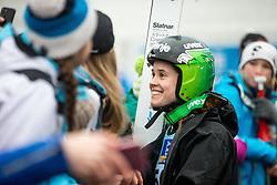 Ursa Bogataj of Slovenia during Day 3 of World Cup Ski Jumping Ladies Ljubno 2019, on February 10, 2019 in Ljubno ob Savinji, Slovenia. Photo by Matic Ritonja / Sportida