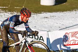 Clement Venturini (FRA), Men Under 23, Cyclo-cross World Championships Tabor, Czech Republic, 1 February 2015, Photo by Pim Nijland / PelotonPhotos.com