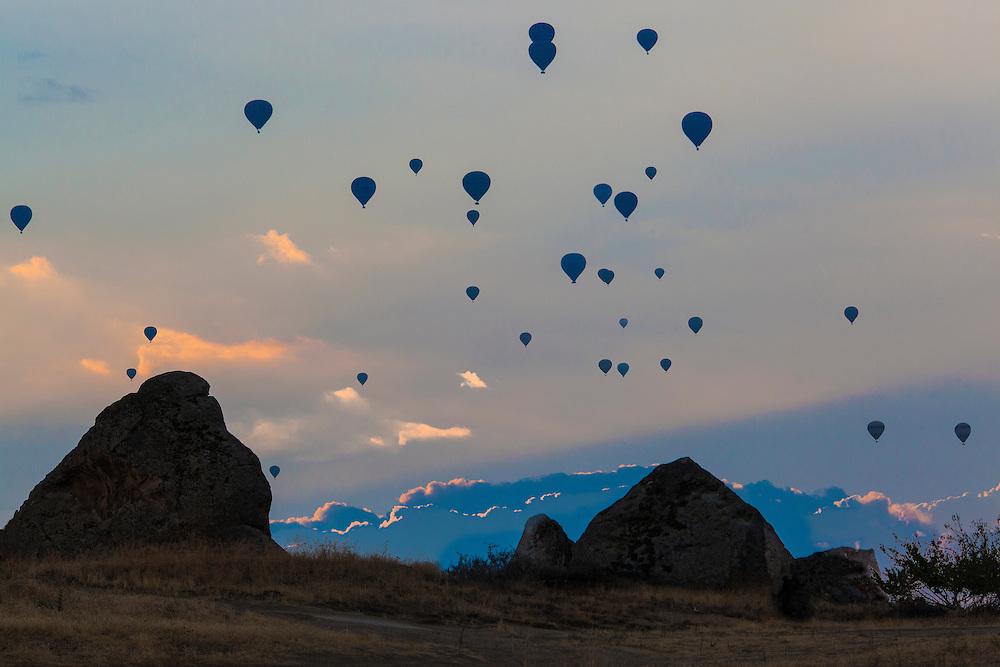 Balooning, Kapadokya, Turkey