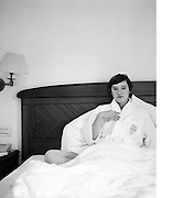 Lucie Stahl photographed by Sabine Reitmaier at Schweizer Hof Bern