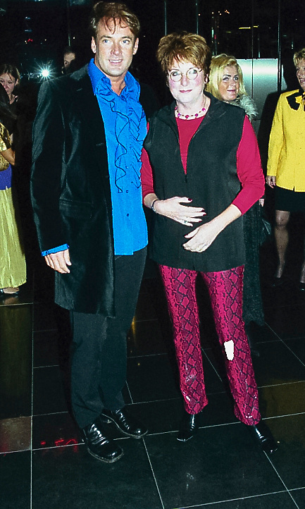 Gala Barcelona Aalsmeer, Gerard Joling en Catherine Keyl