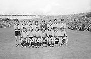 All Ireland Senior Football Championship Final, Kerry v Down, 22.09.1968, 09.22.1968, 22nd September 1968, Down 2-12 Kerry 1-13, Referee M Loftus (Mayo).Captain J Lennon,..The Down Team, .Back row (from left) Tom O'Hare, John Murphy, Ray McConville, Willie Doyle, Danny Kelly, Sean O'Neill, Jim Milligan, Dan McCartan. Front row (from left) Brendan Sloan, Peter Rooney, Micheal Cole, Joe Lennon (capt), Paddy Doherty, Colm  McAlarney, John Purdy, ..