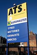 ATS Euromaster motor service centre sign