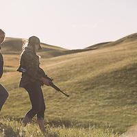 target shooting children prairie dog hunting mossberg rifles