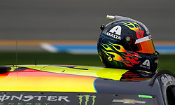 February 10, 2019 - Daytona, FL, U.S. - DAYTONA, FL - FEBRUARY 10: William Byron, Hendrick Motorsports, Chevrolet Camaro Axalta (24) during qualifying for the 61st annual Daytona 500 on February 10, 2019 at Daytona International Speedway in Daytona Beach, Florida  (Photo by Jeff Robinson/Icon Sportswire) (Credit Image: © Jeff Robinson/Icon SMI via ZUMA Press)