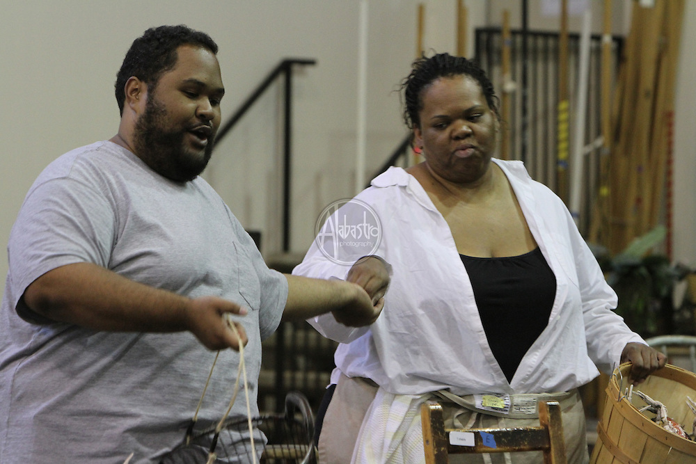 Seattle Opera Porgy and Bess studio rehearsal.  Ashley Faatoalia,