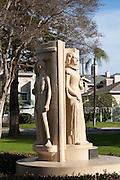 The Modjeska Statue In Pearson Park