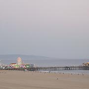 Fair at Santa Monica pier. California, USA.