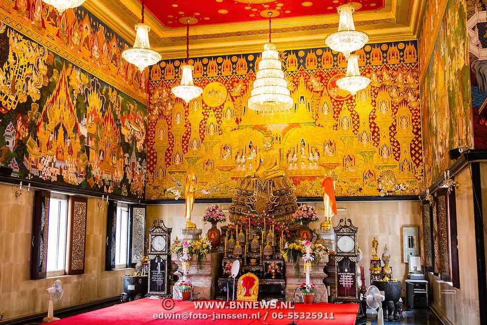 THA/Bangkok/201607111 - Vakantie Thailand 2016 Bangkok, Tempel in Bangkok