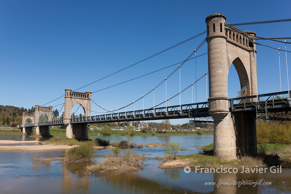 Pont of Langeais, Indre-et-Loire, Centre, France