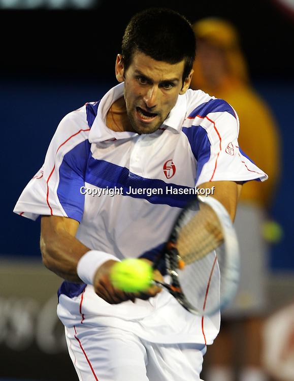 Australian Open 2011, Melbourne Park,ITF Grand Slam Tennis Tournament . Herren Finale, Endspiel,.Novak Djokovic (SRB)