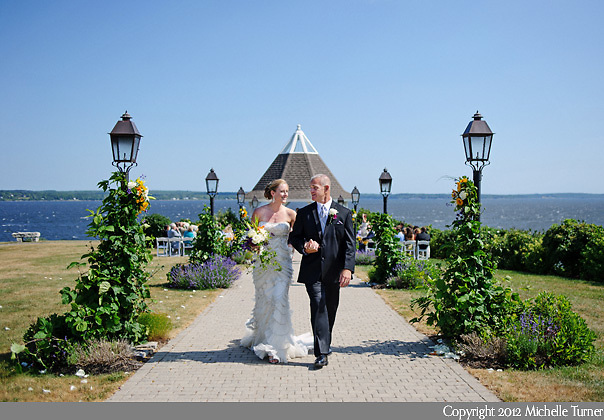 Retreat at French's Point Wedding.  Images by Maine Wedding Photographer Michelle Turner.