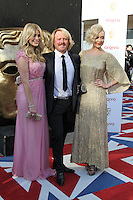 LONDON - MAY 27: Holly Willoughby; Leigh Francis; Fearne Cotton attend the Arqiva British Academy Television Awards at the Royal Festival Hall, London, UK. May 27, 2012. (Photo by Richard Goldschmidt)