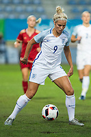 England's Rachel Daly during the frendly match between woman teams of  Spain and England at Fernando Escartin Stadium in Guadalajara, Spain. October 25, 2016. (ALTERPHOTOS/Rodrigo Jimenez)