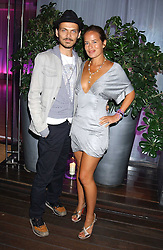 MATTHEW WILLIAMSON and JADE JAGGER at party in aid of cancer charity Clic Sargent held at the Sanderson Hotel, Berners Street, London on 4th July 2005.<br /><br />NON EXCLUSIVE - WORLD RIGHTS