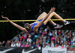 Isobel Pooley of Great Britain competes in High Jump Women  during IAAF World Challenge Zagreb - The 65th Hanzekovic Memorial Meeting, on September 8, 2015, in Stadium Mladost, Zagreb, Croatia. Photo by Vid Ponikvar / Sportida