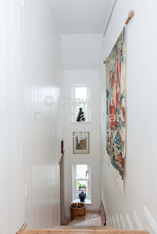 30/9/2010.The staircase in Tom Watts home in Thomastown Kilkenny..Picture Dylan Vaughan.