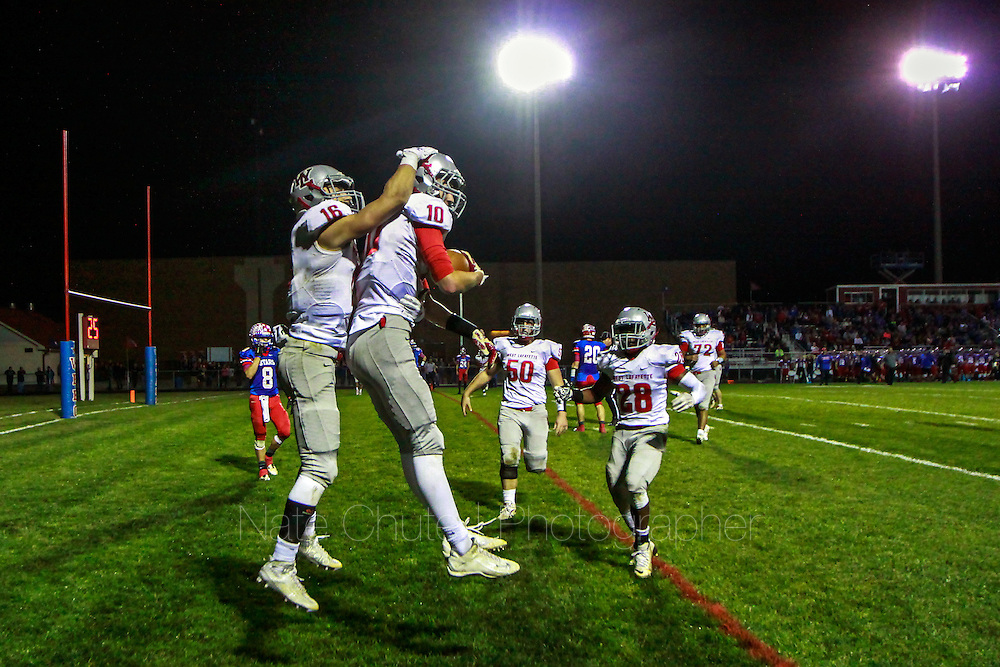 West Lafayette faces Western Boone in the first round of the IHSAA Sectional 28 tournament on Friday, October 23, 2015.