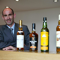 FREE TO USE PIC....Scotch whisky distiller Edrington, maker of The Famous Grouse, today (Tuesday 27th May) announced that its operations director Ian Curle (pictured) has been selected to succeed Ian Good as chief executive when the<br />latter steps down from the role next April. In the meantime, Mr. Curle will assume the role of deputy chief executive<br />with immediate effect. Aged 41, and an honours graduate of Glasgow University, Mr. Curle is the youngest chief executive in Edrington's 150 year history. Edrington said that Mr. Curle would work closely with Mr Good prior to becoming chief executive at the start of the group's new financial year,<br />from which time Mr. Good, presently chairman and chief executive, would become executive chairman. Mr. Good (59), who is also chairman of the Scotch Whisky Association and one of the industry's best known figures, has been chief executive of Edrington since 1989.<br />For further information, contact: Emrys Inker, corporate affairs director, The Edrington Group. Tel: 01738 493781 or 07776164411<br /><br />Picture by Graeme Hart.<br />Copyright Perthshire Picture Agency<br />Tel: 01738 623350  Mobile: 07990 594431