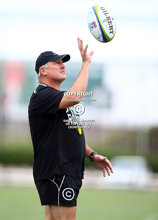 DURBAN, SOUTH AFRICA, Monday 11,January 2016 - Gary Gold (Sharks Director of Rugby) during The Cell C Sharks Pre Season training Monday 11th January 2016,for the 2016 Super Rugby Season at Growthpoint Kings Park in Durban, South Africa. (Photo by Steve Haag)<br /> images for social media must have consent from Steve Haag