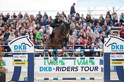 LEPREVOST Penelope (FRA), Vancouver de Lanlore<br /> Hagen - Horses and Dreams meets the Royal Kingdom of Jordan 2018<br /> Preis der LVM Versicherung Qualifikation zur DKB-Riders Tour<br /> 28. April 2018<br /> www.sportfotos-lafrentz.de/Stefan Lafrentz