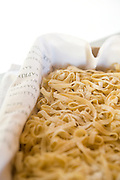 Pasta in a container