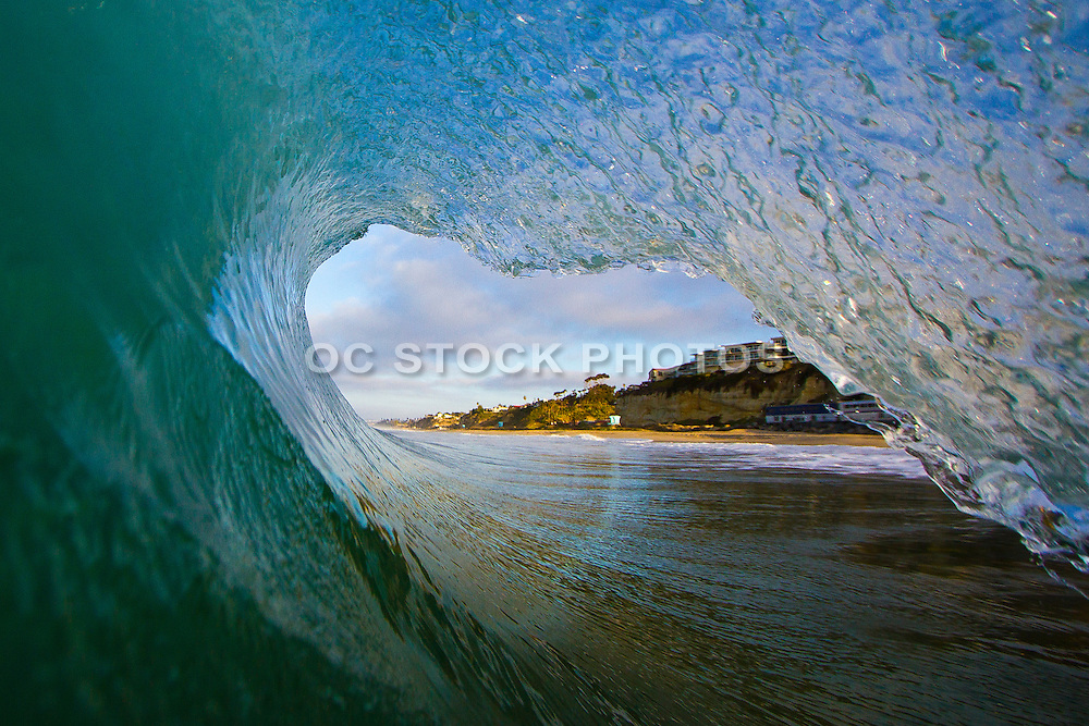 Barrel Wave at San Clemente State Beach