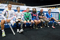 Behind the scenes, , Individual Pursuit, 2015 UCI Para-Cycling Track World Championships, Apeldoorn, Netherlands