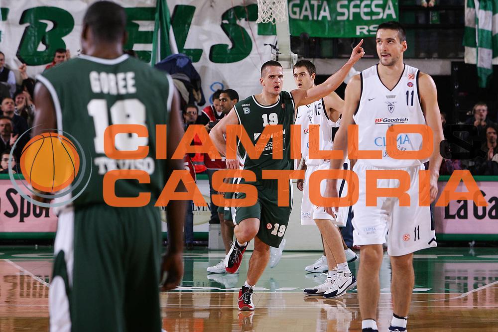 DESCRIZIONE : Treviso Eurolega 2005-06 Benetton Treviso  Climamio Fortitudo Bologna <br /> GIOCATORE : Popovic <br /> SQUADRA : Benetton Treviso <br /> EVENTO : Eurolega 2005-2006 <br /> GARA : Benetton Treviso Climamio Fortitudo Bologna <br /> DATA : 17/11/2005 <br /> CATEGORIA : Esultanza <br /> SPORT : Pallacanestro <br /> AUTORE : Agenzia Ciamillo-Castoria/S.Silvestri
