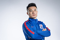**EXCLUSIVE**Portrait of Chinese soccer player Cao Yunding of Shanghai Greenland Shenhua F.C. for the 2018 Chinese Football Association Super League, in Shanghai, China, 2 February 2018.