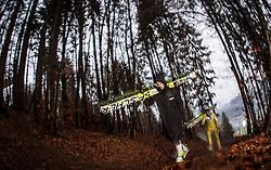 05.01.2014, Paul Ausserleitner Schanze, Bischofshofen, AUT, FIS Ski Sprung Weltcup, 62. Vierschanzentournee, Qualifikation, im Bild Janne Ahonen (FIN)/ / Janne Ahonen (FIN) during qualification Jump of 62nd Four Hills Tournament of FIS Ski Jumping World Cup at the Paul Ausserleitner Schanze, Bischofshofen, Austria on 2014/01/05. EXPA Pictures © 2014, PhotoCredit: EXPA/ JFK