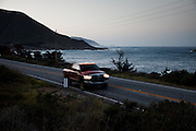 Big Sur, April 5 2012 - The seaside road on the West coast between San Francisco and Los Angeles.