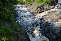 Machias Falls, Machias, Maine.