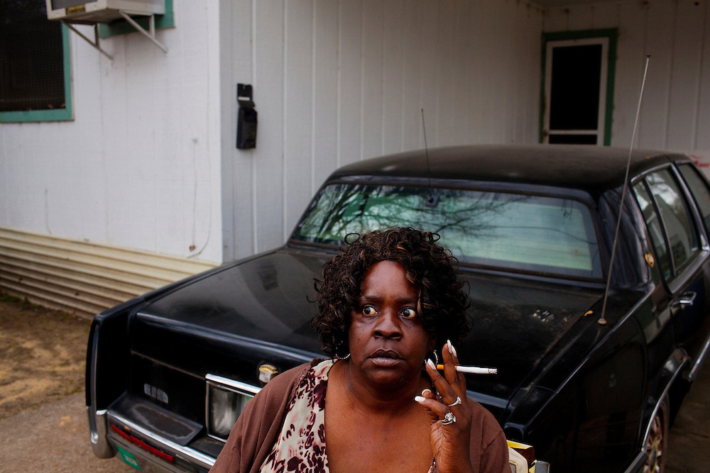 in the Baptist Town neighborhood of Greenwood, Mississippi on February 18, 2011.