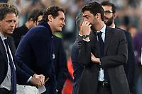 John Elkann, Andrea Agnelli <br /> Torino 22-04-2018 Allianz Stadium Football Calcio Serie A 2017/2018 Juventus - Napoli Foto Andrea Staccioli / Insidefoto