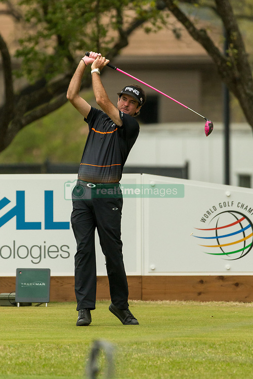 March 23, 2018 - Austin, TX, U.S. - AUSTIN, TX - MARCH 23:  Bubba Watson hits a tee shot during the WGC-Dell Technologies Match Play Tournament on March 22, 2018, at the Austin Country Club in Austin, TX.  (Photo by David Buono/Icon Sportswire) (Credit Image: © David Buono/Icon SMI via ZUMA Press)