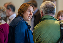 Pictured: Kezia Dugdale<br /><br />Gordon Brown addressed thenew Scottish think tank seminar today.  He was joined by Shadow Scottish secretary Lesley Laird and Scottish Labour leader Richard Leonard who also spoke at the inaugural meeting of Our Scottish Future<br /><br />Ger Harley | EEm 30 August 2019