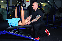 Marc Rhodes personal training.<br /> <br /> Date: December 15, 2015<br /> Picture: Chris Vaughan/Chris Vaughan Photography