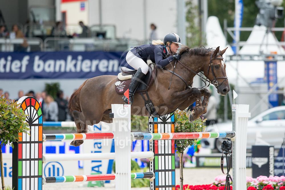 Holly Gillott (GBR)) & Dougie Douglas - Jumping - Eversheds Prijs - CHIO Rotterdam - Kralingen, Rotterdam, Netherlands - 20 June 2014