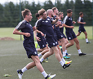 Dundee new boy Scott Allan during pre-season testing at University Grounds, Riverside, Dundee, Photo: David Young<br /> <br />  - &copy; David Young - www.davidyoungphoto.co.uk - email: davidyoungphoto@gmail.com