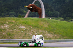 06.07.2013, Red Bull Ring, Spielberg, AUT, Truck Race Trophy, Renntag 1, im Bild Jochen Hahn, (GER, Castrol Team Hahn Racing, #1, 2. Platz) // during the Truck Race Trophy 2013 at the Red Bull Ring in Spielberg, Austria, 2013/07/06, EXPA Pictures © 2013, PhotoCredit: EXPA/ M.Kuhnke