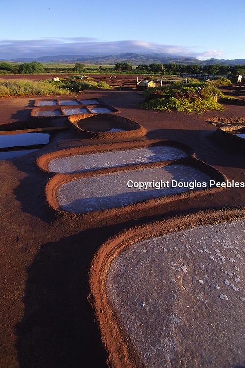 Hanapepe Salt Ponds, Hanapepe, Kauai, Hawaii<br />