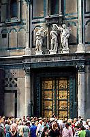 Italie, Toscane, Florence,Porte du Paradis du Baptistere //  Ghiberti´s ´Gates of Paradise´, Baptistery, Florence, Italy