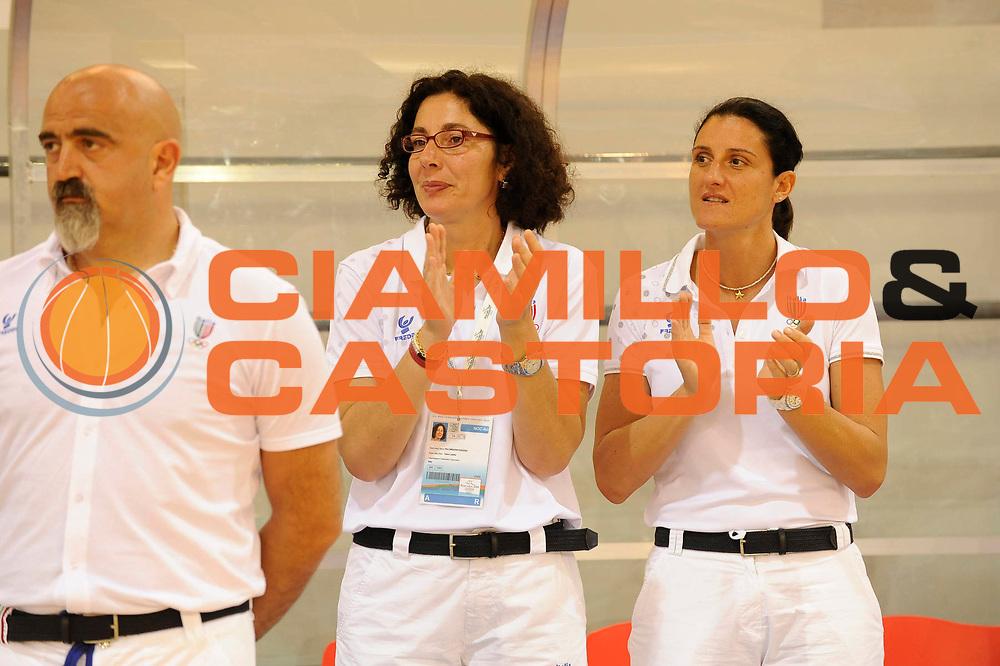 DESCRIZIONE : Ortona Giochi del Mediterraneo 2009 Mediterranean Games Italia Italy Albania Preliminary Women<br /> GIOCATORE : Palombarini Mara Fullin<br /> SQUADRA : Nazionale Italiana Femminile<br /> EVENTO : Ortona Giochi del Mediterraneo 2009<br /> GARA : Italia Italy Albania<br /> DATA : 28/06/2009<br /> CATEGORIA : ritratto<br /> SPORT : Pallacanestro<br /> AUTORE : Agenzia Ciamillo-Castoria/G.Ciamillo