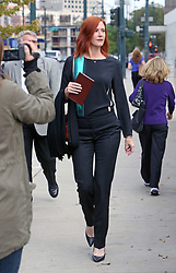 Taylor Swift v David Mueller trial at the Alfred A. Arraj United States Courthouse end of day two. Team Taylor Swift photographed leaving the courthouse including Taylor's publicist Tree Paine. 08 Aug 2017 Pictured: Team Taylor leaving the courthouse in Denver, CO including publicist Tree Paine. Photo credit: Leigh Green/MEGA TheMegaAgency.com +1 888 505 6342